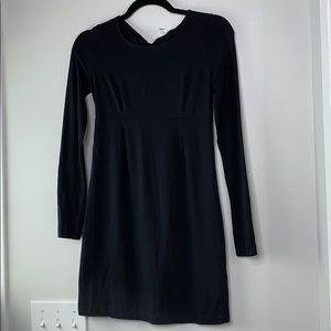Splendid open back cotton dress